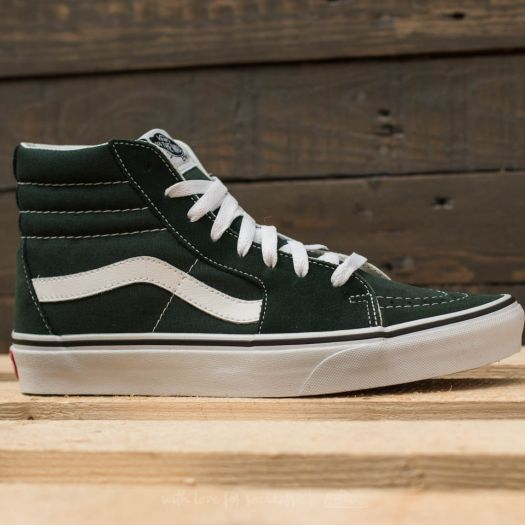 Men's shoes Vans Sk8-Hi Scarab/ True White