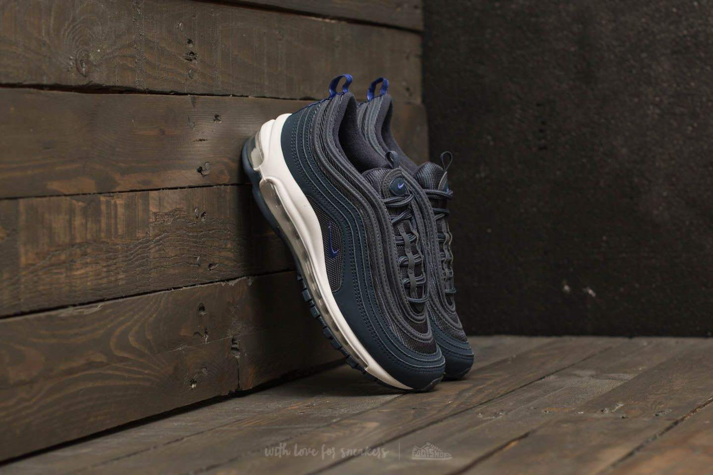Nike Air Max 97 (GS) Thunder Blue  Persian Violet  2c36ce7dc