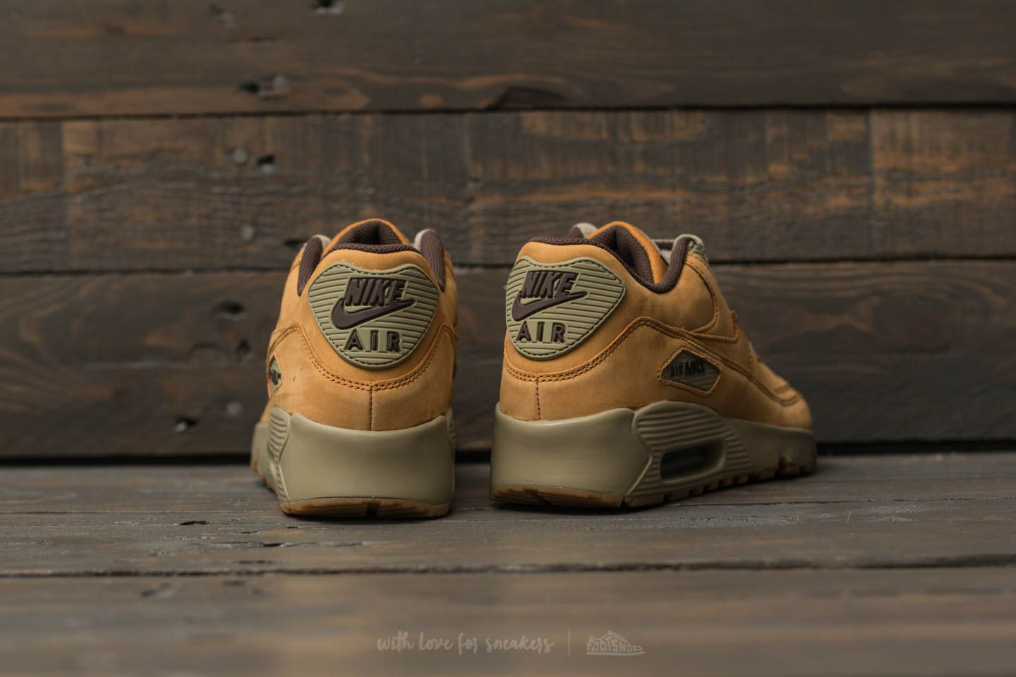 Nike Air Max 90 Winter Premium (GS) Bronze Bronze Baroque Brown | Footshop