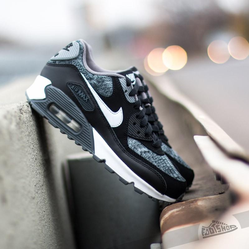 Nike Air Max 90 (GS) Anthracite White Black   Footshop