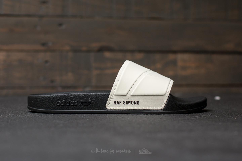 1a344bc7c891ae adidas x Raf Simons Adilette Bunny Cream White  Core Black  Core Black at a