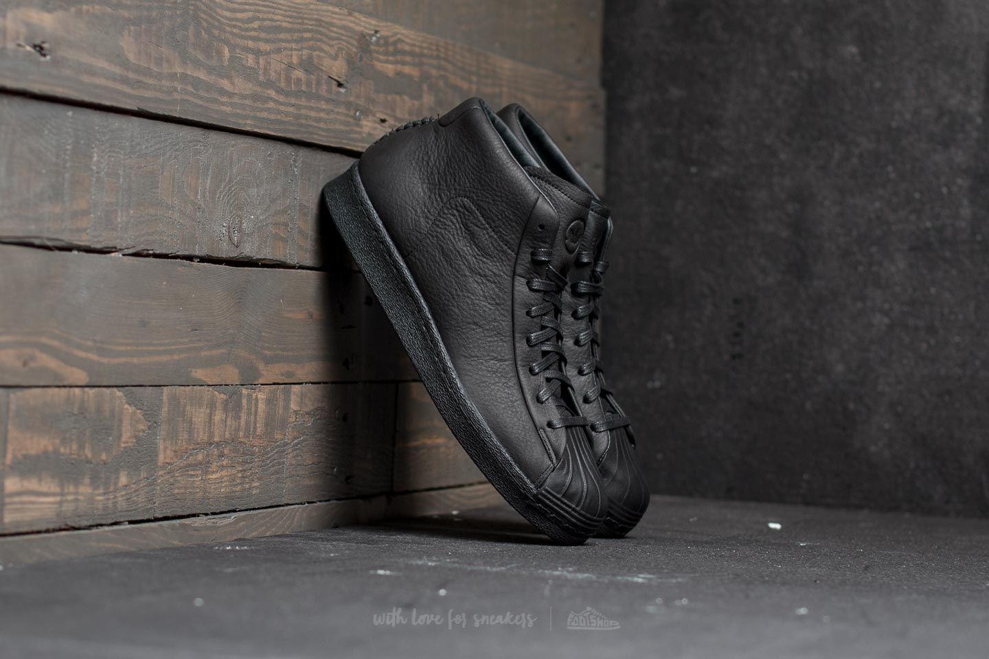 adidas Wings + Horns Promodel 80s Core Black/ Core Black/ Chalk White