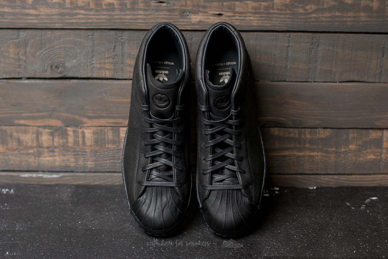 Adidas Black WingsHorns Chalk Promodel 80s Core I6mYgy7vbf