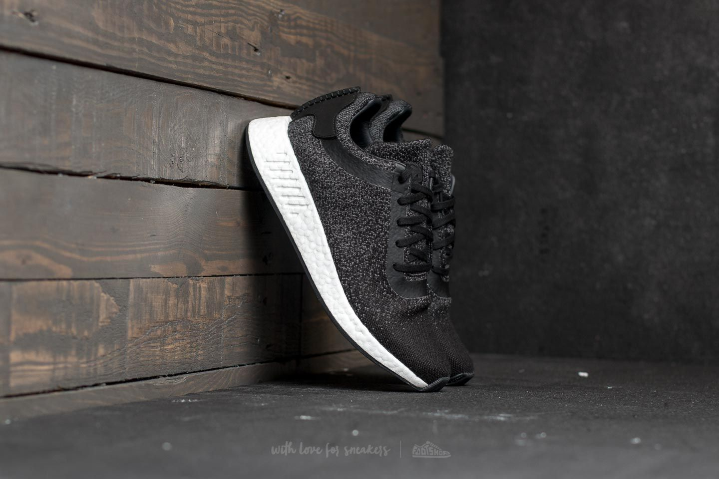 47464a2cd8a8 adidas Wings + Horns NMD R2 Core Black  Utility Black  Grey Five ...