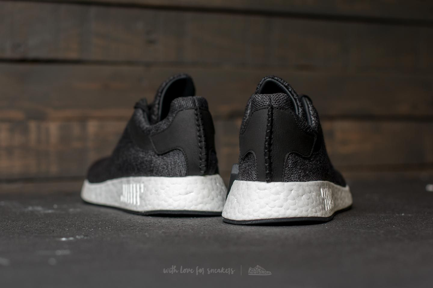fashion styles attractive price cozy fresh adidas Wings + Horns NMD R2 Core Black/ Utility Black/ Grey Five ...