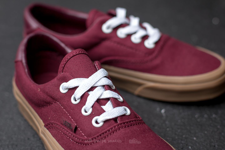 Chaussures Homme Vans UA Era 59 canvas gum port royale