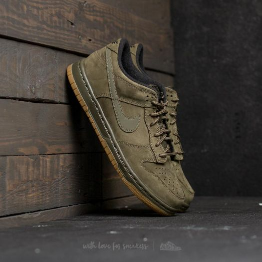 best sneakers 61a02 d35a1 Nike Dunk Low Winter Premium (GS) Medium Olive/ Medium ...