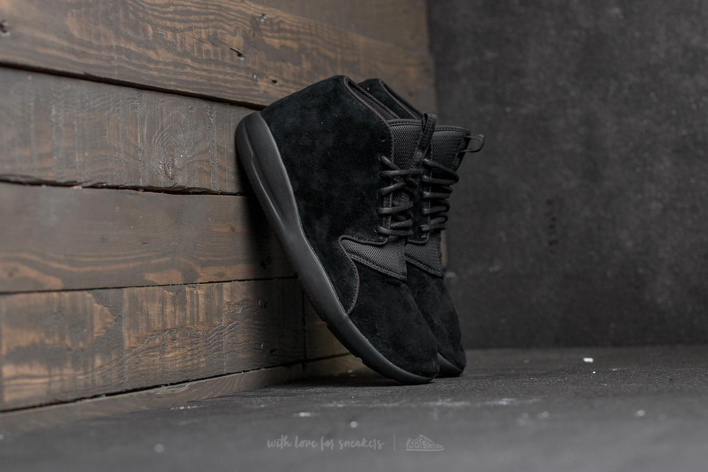 b1d703a45aa77d Jordan Eclipse Chukka Leather Black  Black