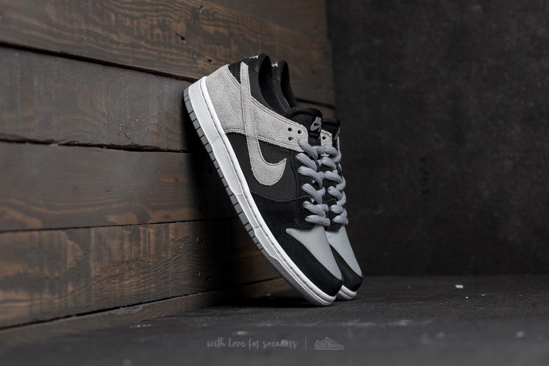 1b78d6cc307 Nike SB Zoom Dunk Low Pro Black  Wolf Grey-White-White