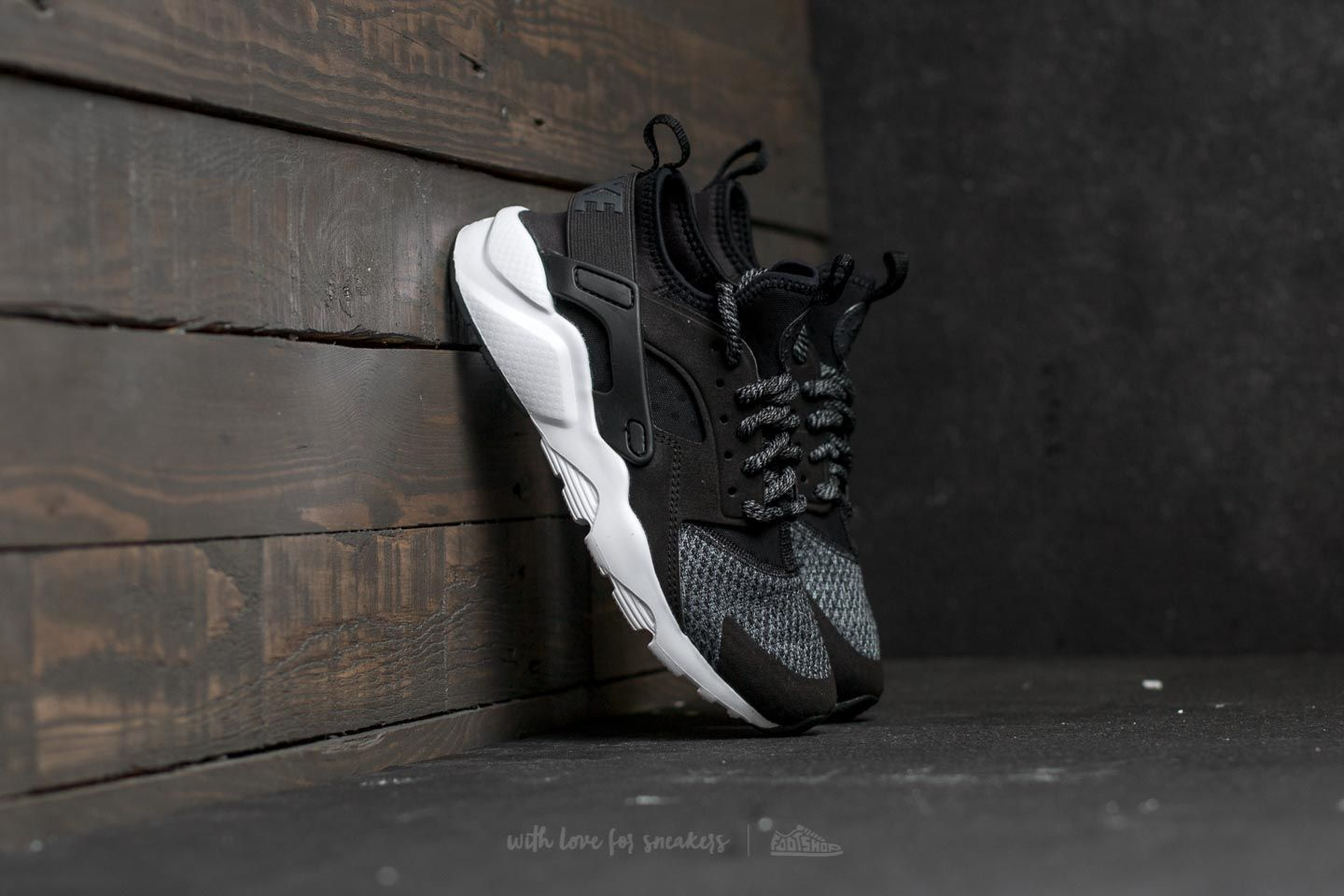 d423941e9c203 Nike Air Huarache Run Ultra SE (GS) Black  Black-Anthracite