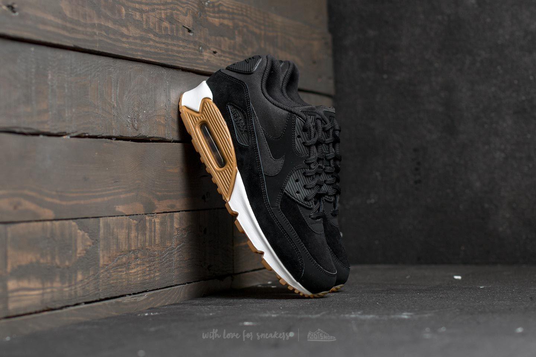 Nike Wmns Air Max 90 SE Black  Black-Gum Light Brown  7934c2a36