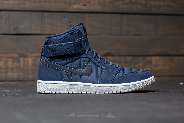 separation shoes 0fac7 7ff14 Air Jordan 1 High Strap Midnight Navy/ Midnight Navy | Footshop