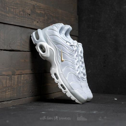 online retailer b398b 41476 Nike Air Max Plus Pure Platinum/ Metallic Gold   Footshop