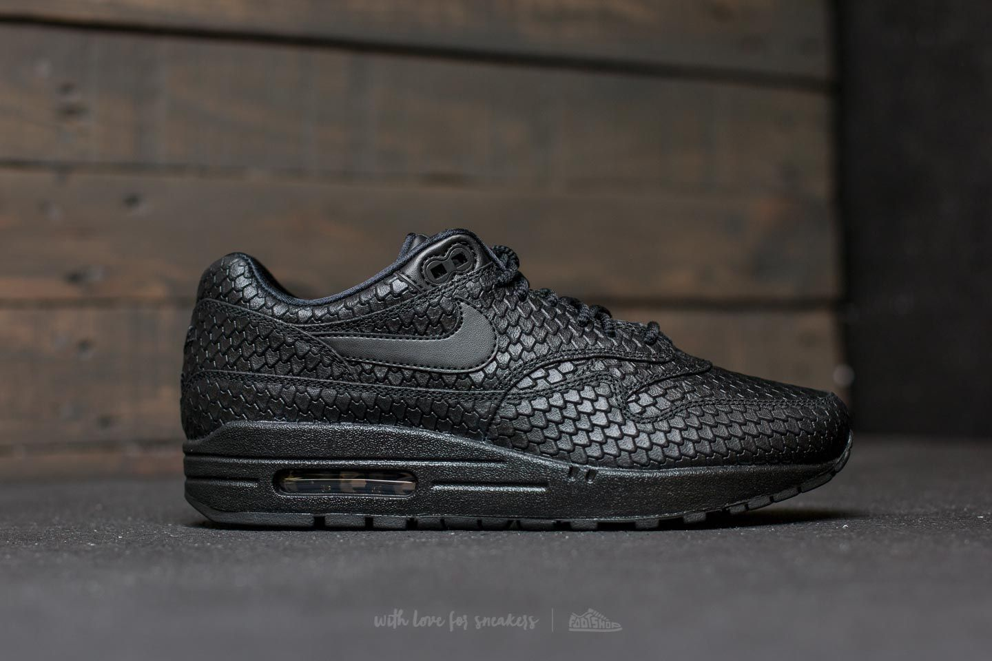 Nike Wmns Air Max 1 Premium Black  Black-Anthracite at a great price 73 9a5573e01