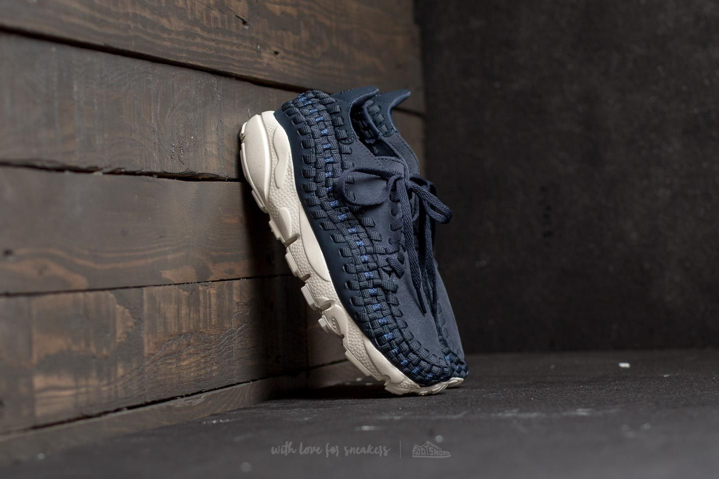 dfacd15c04 best blue red womens nike air footscape woven shoes 559b1 e2d53