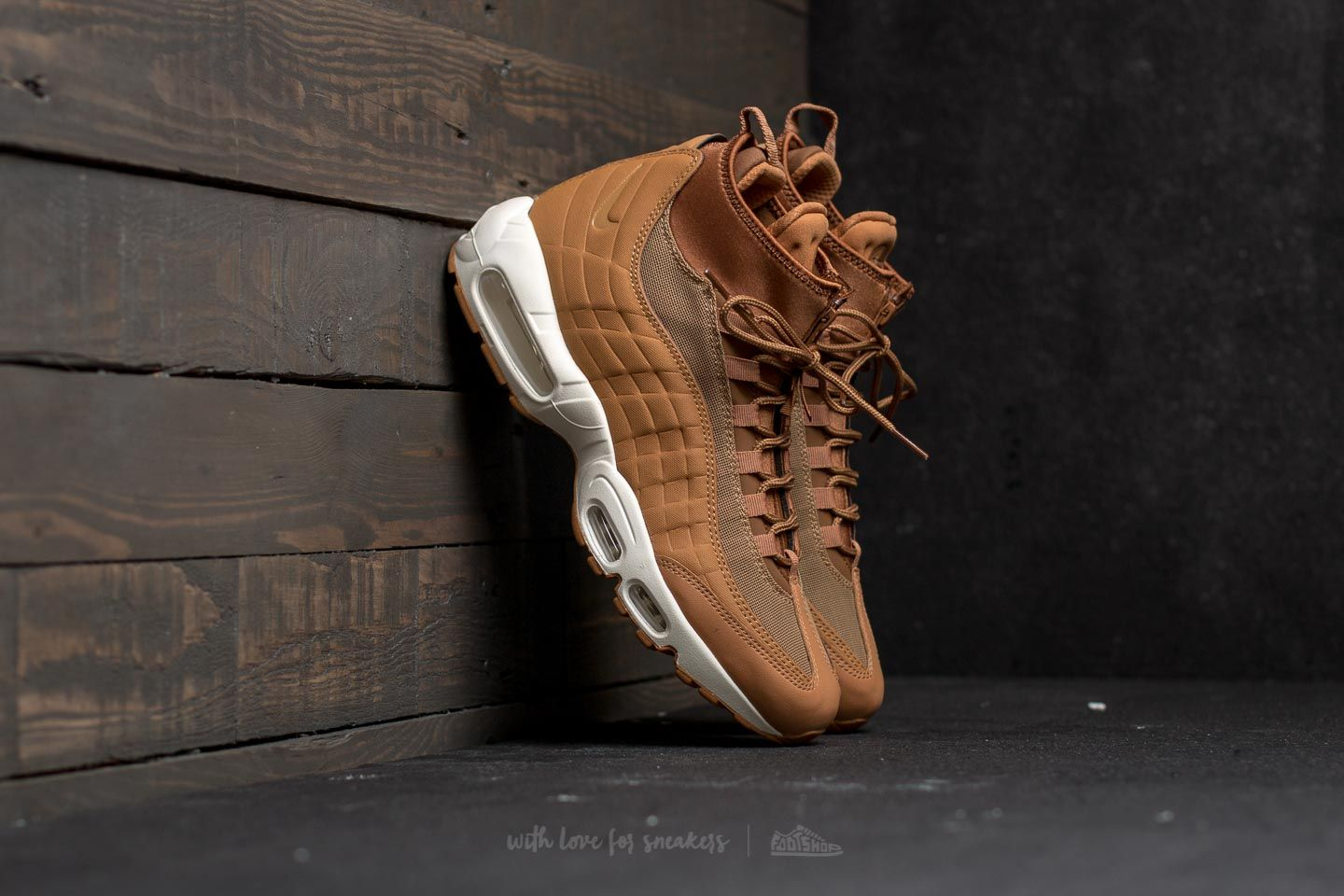 e2ecaec567 Nike Air Max 95 Sneakerboot Flax/ Flax-Ale Brown-Sail | Footshop