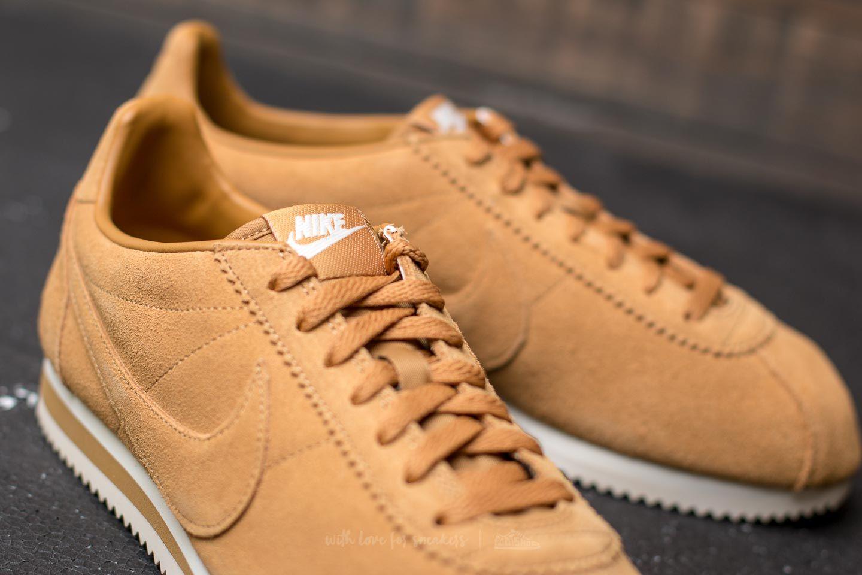 check out 1a316 5649d Nike Classic Cortez SE Wheat/ Wheat-Sail | Footshop