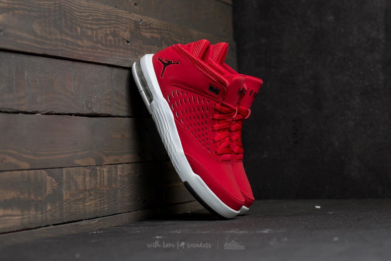 sports shoes 0ead3 2068f Jordan Flight Origin 4 Gym Red/ Black-Pure Platinum | Footshop