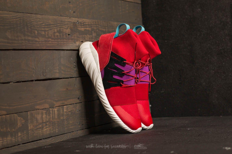 a4dcc9b60cd adidas Tubular Doom Winter Scarlet  Scarlet  Shock Purple
