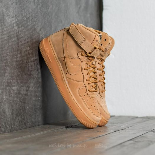 save off 5f498 dd6c8 Nike Air Force 1 High WB (GS) Flax/ Flax-Outdoor Green ...