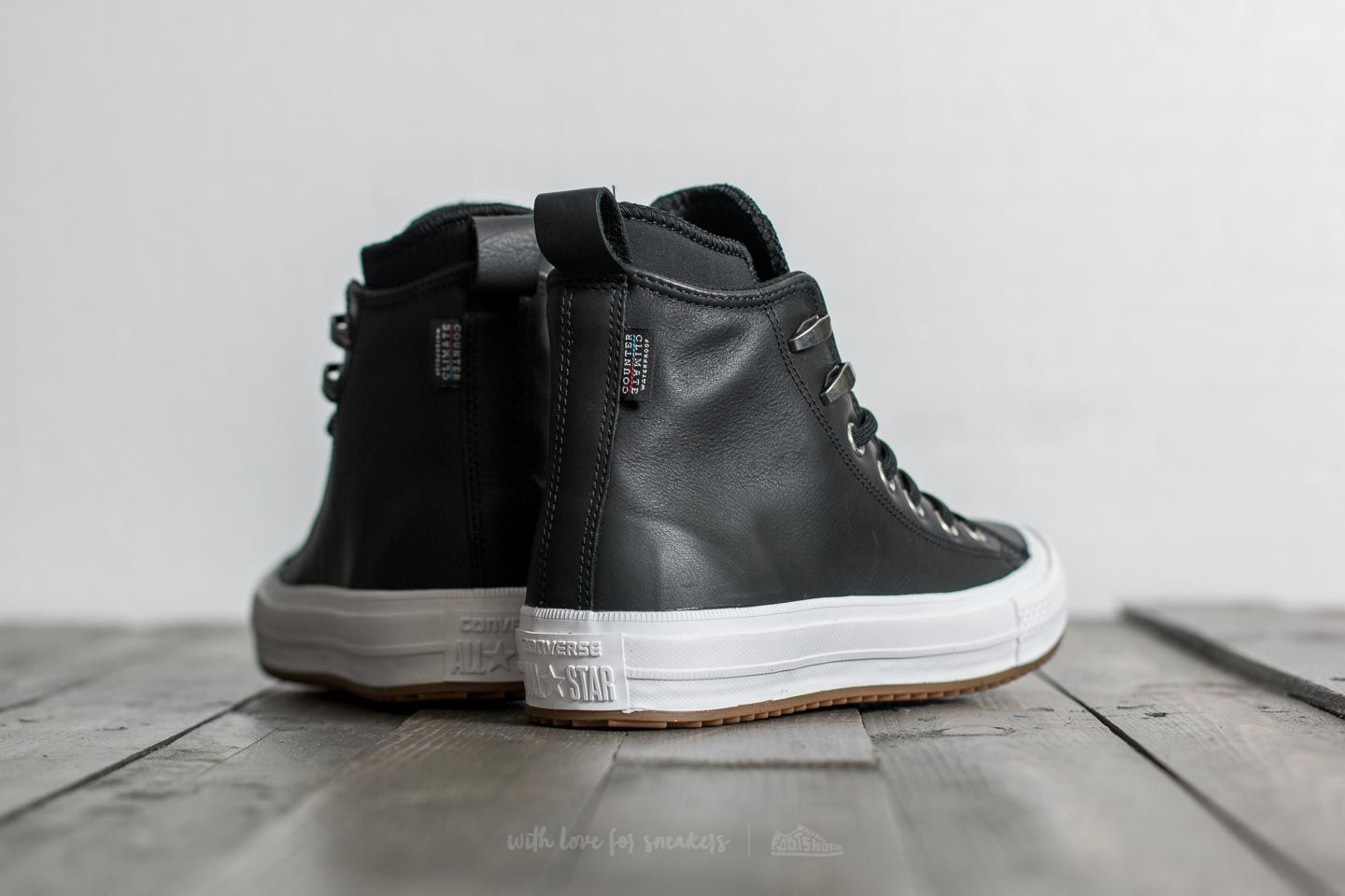 Converse Chuck Taylor All Star Waterproof Boot Hi Black  Black  White at a  great 9045d74ecc3