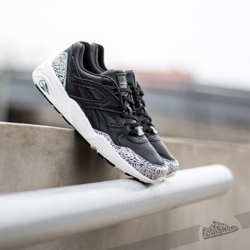 Puma R698 Snow Splatter Pack Black White  a7cac7634