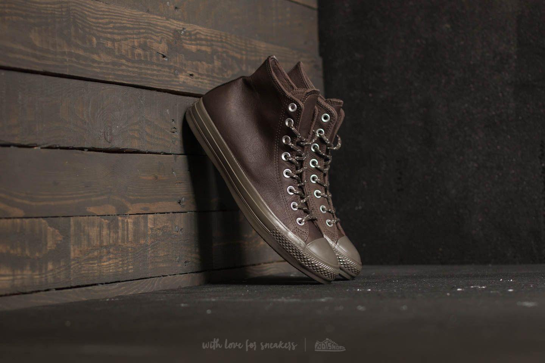 70aa4f95dec6 Converse Chuck Taylor All Star Hi Dark Chocolate  Dark Chocolate ...