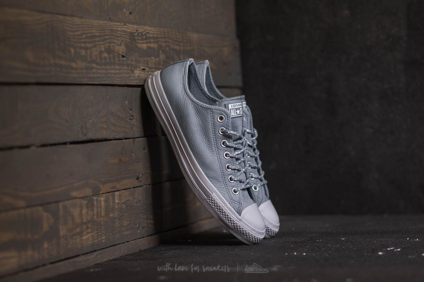 95215e58ade6 Converse Chuck Taylor All Star Ox Cool Grey  Pure Platinum