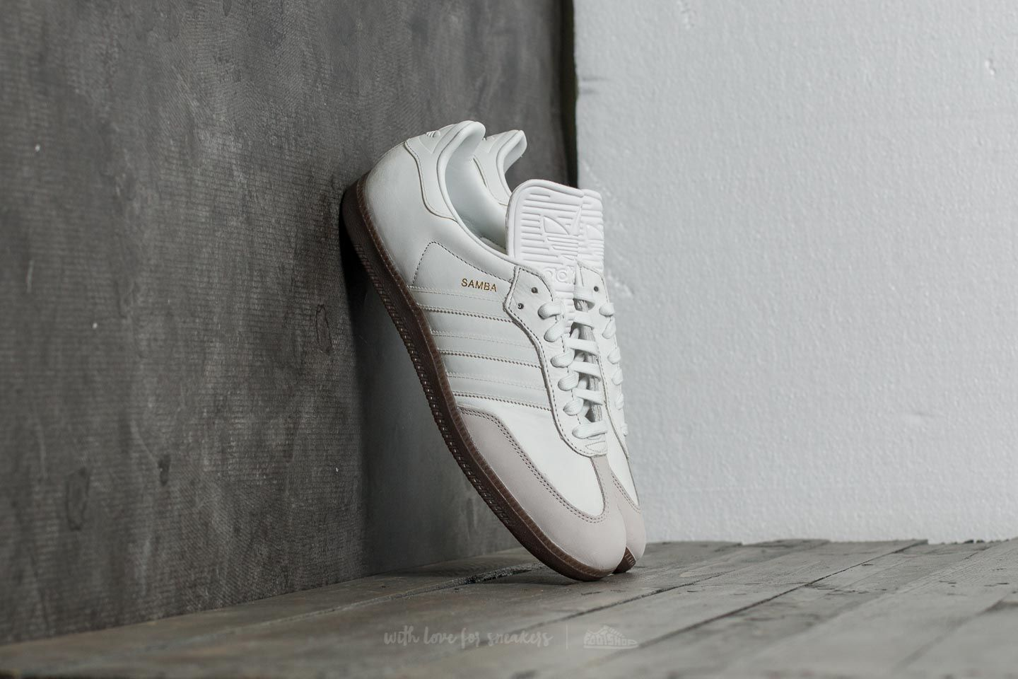 competitive price fc30d 23e59 adidas Samba Classic OG Vintage White  Reflective  Pearl Grey