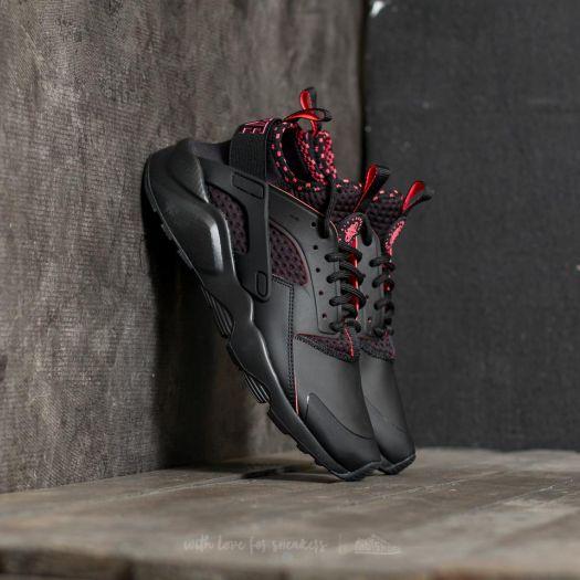 adolescentes nicotina sirena  Men's shoes Nike Air Huarache Run Ultra SE Black/ Solar Red-Black | Footshop