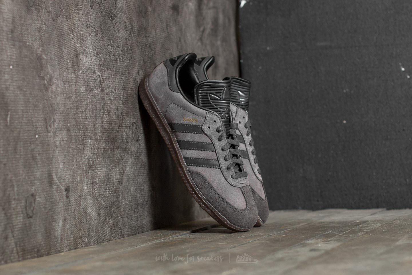 on the other hand, Congrats Wide range  Men's shoes adidas Samba Classic OG Utility Black/ Reflective/ Core Black |  Footshop