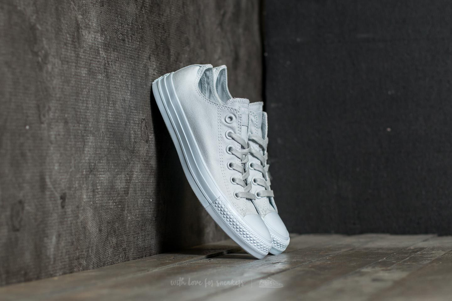 fb65c6a5e558 Converse Chuck Taylor All Star Ox Pure Platinum  Pure Platinum ...