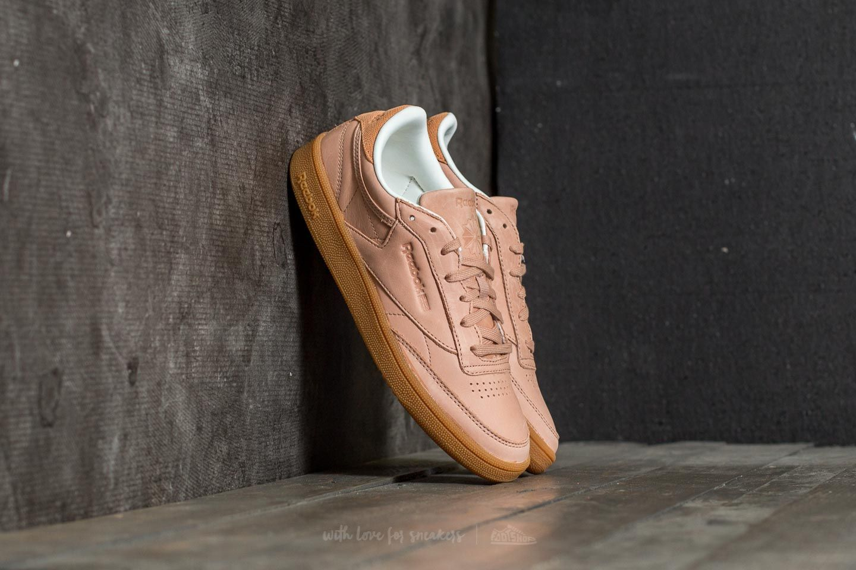 Dámské tenisky a boty Reebok Club C 85 FTB WL Vegan Tan/ Gum