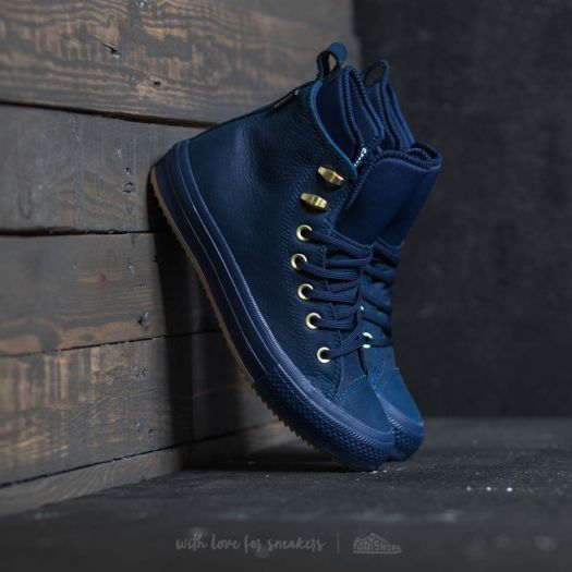 Converse Chuck Taylor All Star Waterproof Boot Hi Midnight Navy  Midnight  Navy  a7feec52d4d