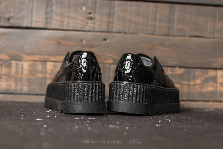 Puma Fenty x Rihanna Pointy Creeper Patent Wn's Puma Black   Footshop