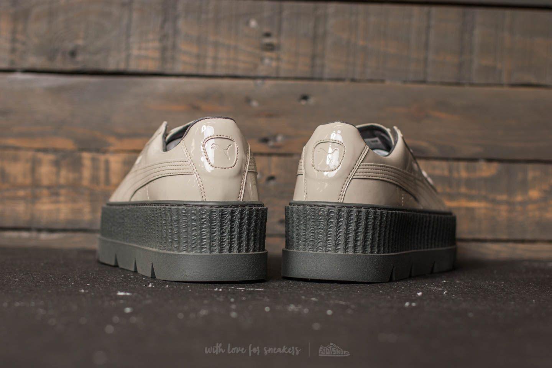 Puma Fenty x Rihanna Pointy Creeper Patent Dove Glacier Gray | Footshop