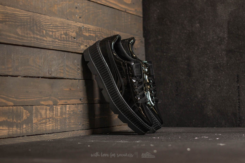 df31173916fe2c Puma Fenty x Rihanna Pointy Creeper Patent Puma Black