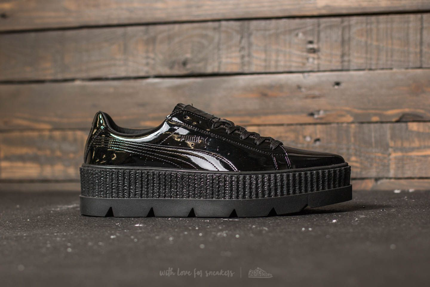 cf90e71ba8c6fc Puma Fenty x Rihanna Pointy Creeper Patent Puma Black at a great price 92 €  bestell