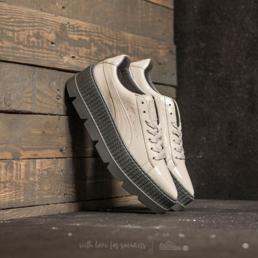 designer fashion 3de13 a4597 Puma Fenty x Rihanna Pointy Creeper Patent Wn's Dove ...