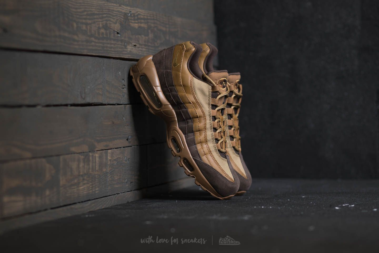 509b88b0ee Nike Air Max 95 Premium Baroque Brown/ Golden Beige   Footshop