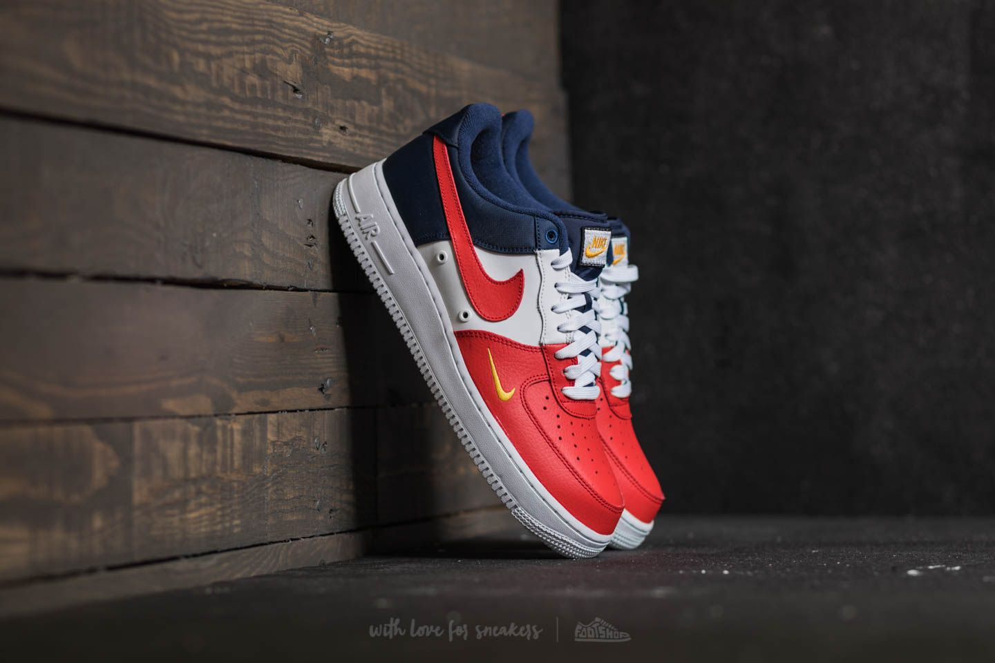 07a38d159d2 Nike Air Force 1  07 LV8 University Red  University Red