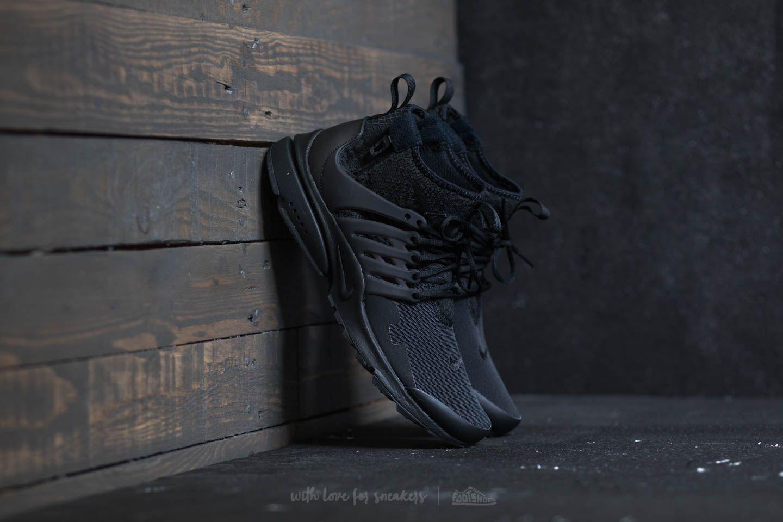 4b18e68c16d4 Nike Air Presto Mid Utility Black  Black-Dark Grey