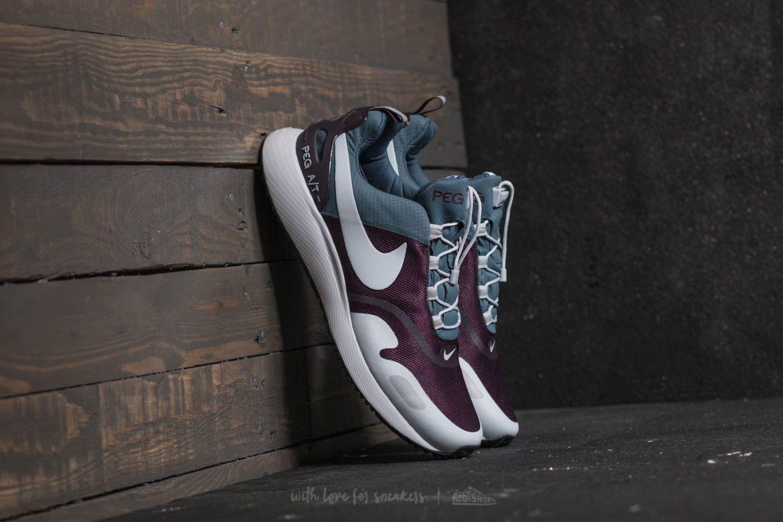 c4b92795052 Nike Air Pegasus A T Winter Blue Fox  Wolf Grey-Port Wine