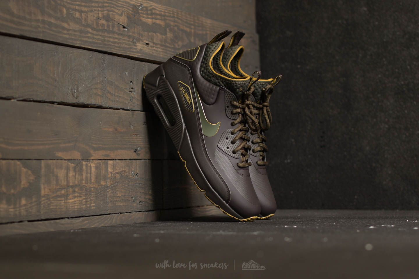894bb4c91f Nike Air Max 90 Ultra Mid Winter SE Velvet Brown/ Velvet Brown ...