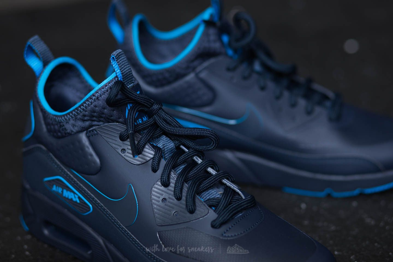Nike Air Max 90 Ultra Mid Winter SE Obsidian Obsidian Thunder Blue | Footshop