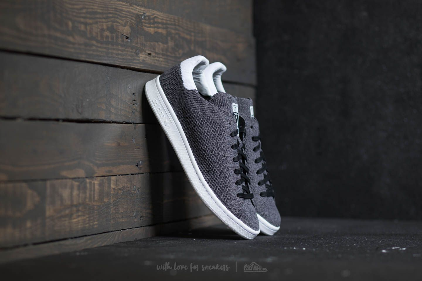 adidas Stan Smith Primeknit Core Black  Core Black  Ftw White  c71bf644e