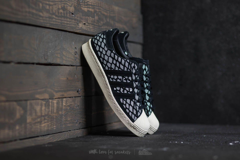 online retailer 83b56 64689 adidas Superstar 80s W Core Black Core Black Off White