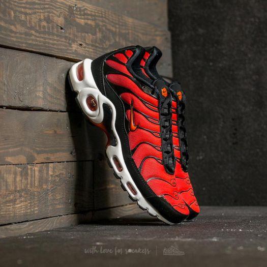 3bc9e9b6 Nike Air Max Plus Black/ Team Orange-Team Red | Footshop
