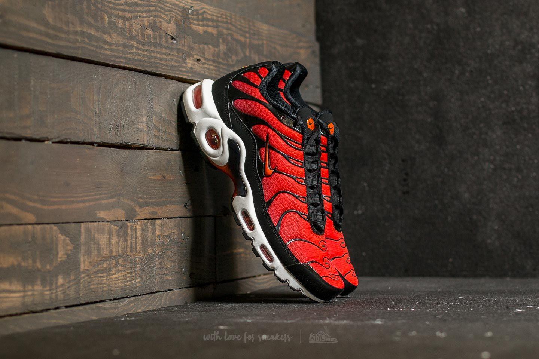 6d59a16b5f1 Nike Air Max Plus Black  Team Orange-Team Red
