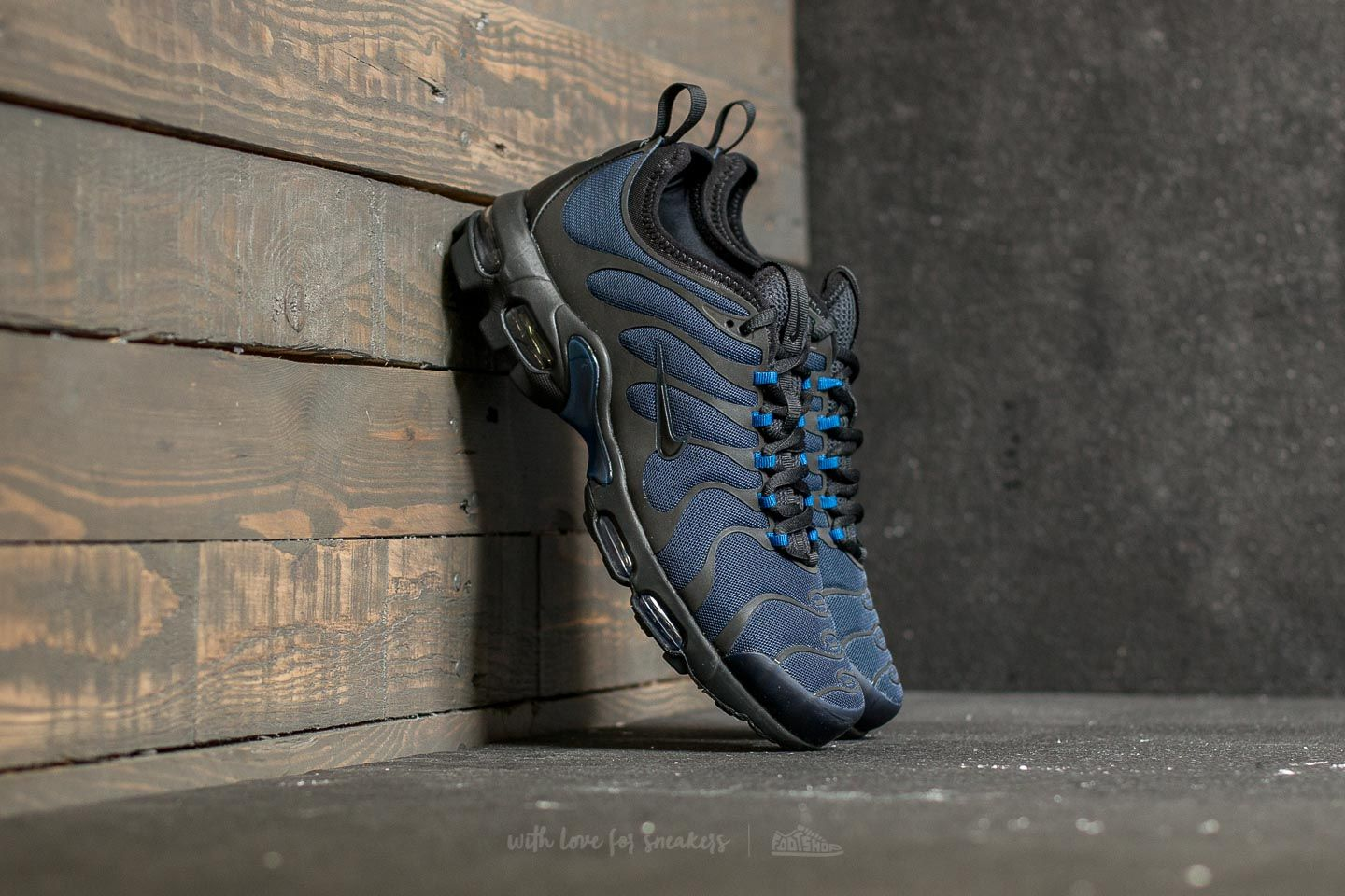 5a23683d78 Nike Air Max Plus TN Ultra Obsidian/ Black-Gym Blue | Footshop